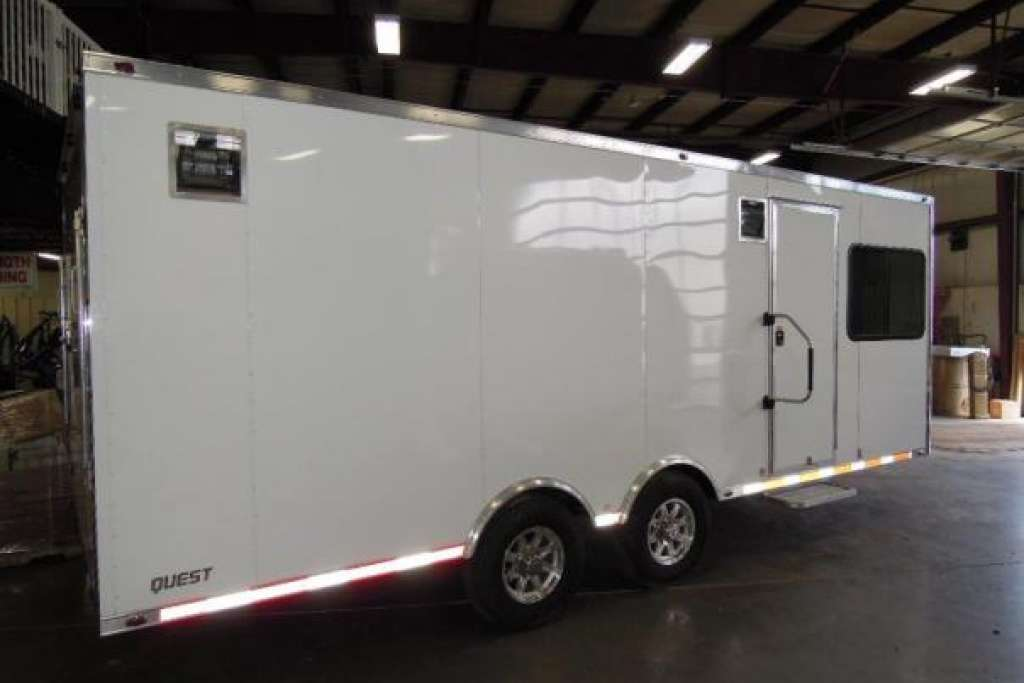 Mobile Office Trailer with Tool Crib