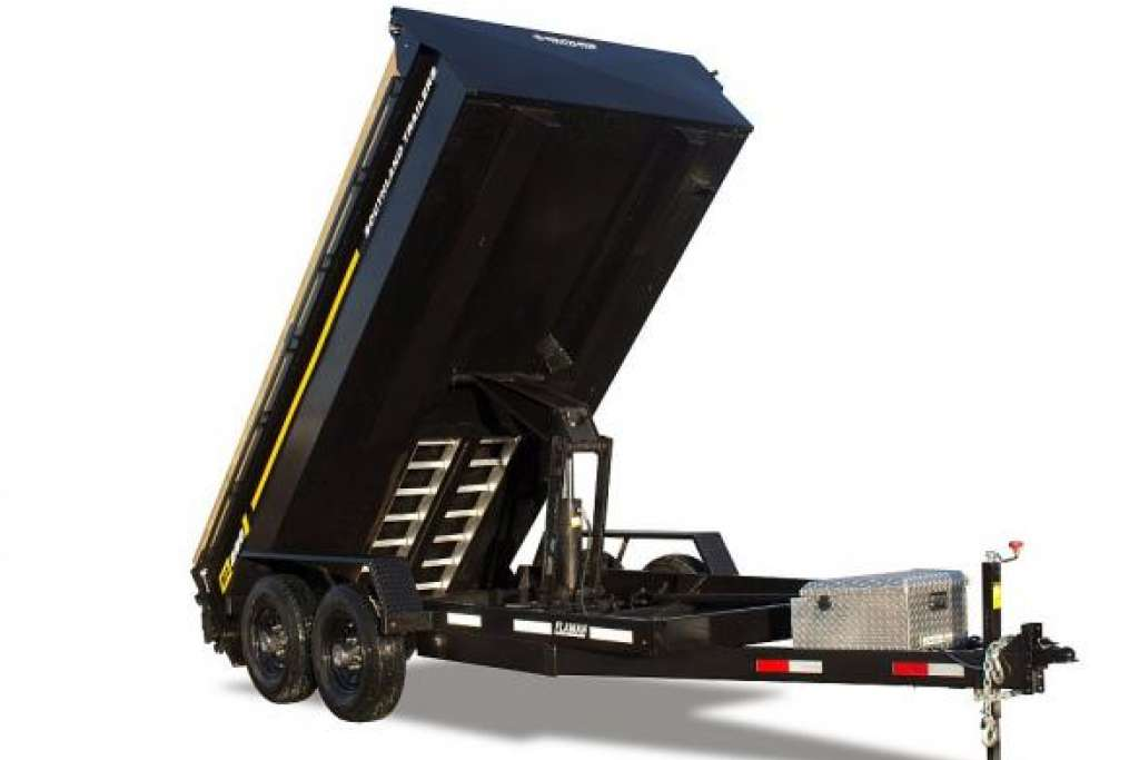 Southland SL 280 Dump Trailer Fully Raised