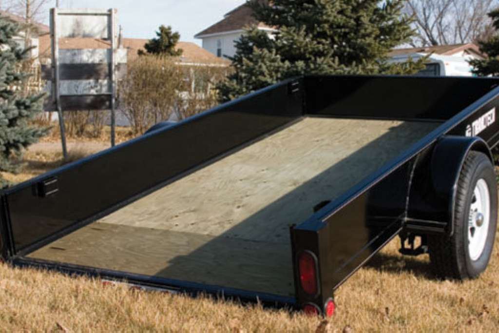 Trailtech Tilt Deck Utility Trailer