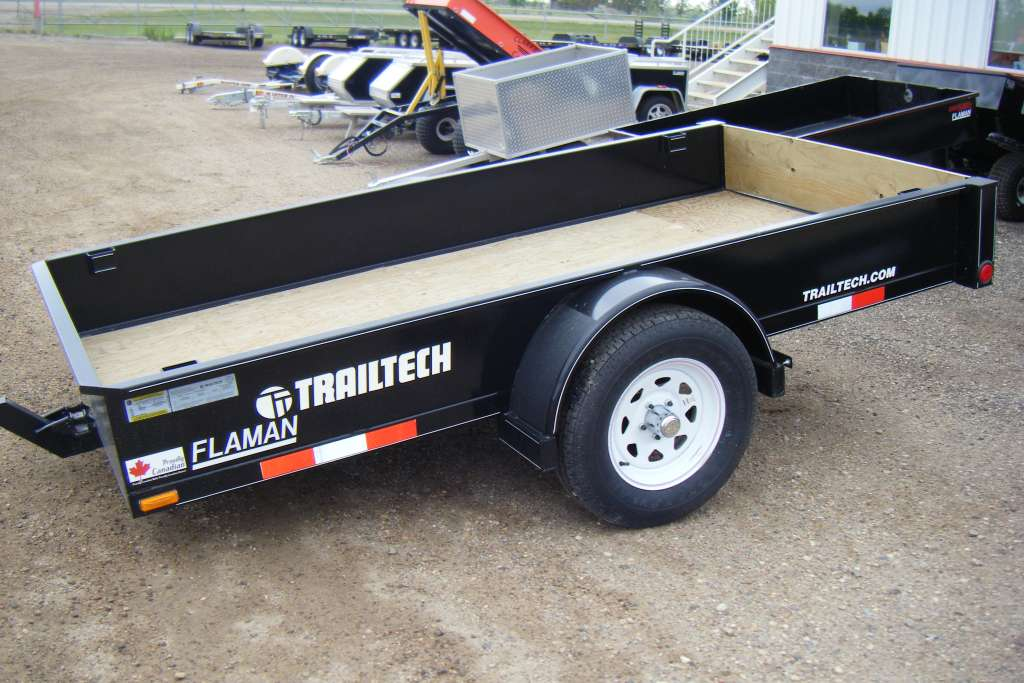 Trailtech UT135 Light Duty Box Trailer