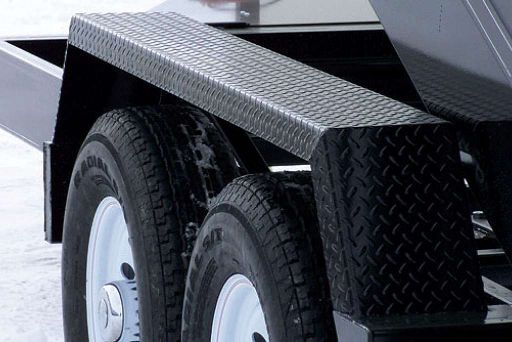 Trailtech Dump Trailer Jeep Style Fenders
