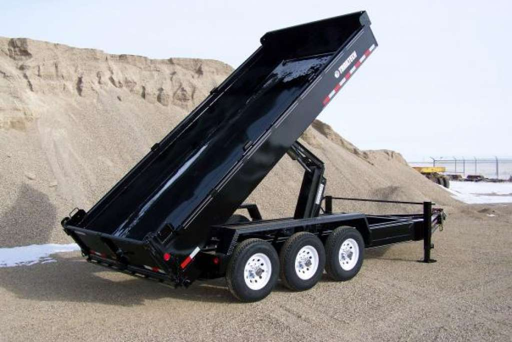 Trailtech Triple Axle Dump Trailer