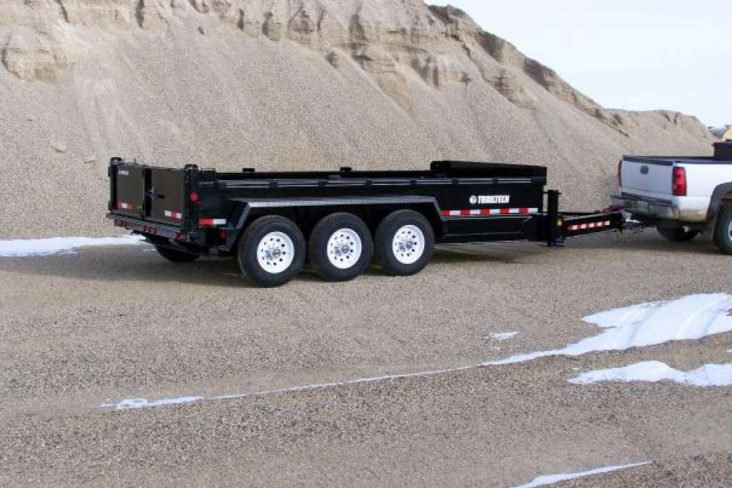 Trailtech Triple Axle Heavy Duty Dump Trailer