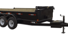 10,000 GVW Low Profile Dump Trailer