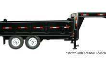 14,000 GVW High Deck Dump Trailer