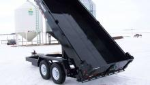 Trailtech Heavy Duty Tag Dump Trailer