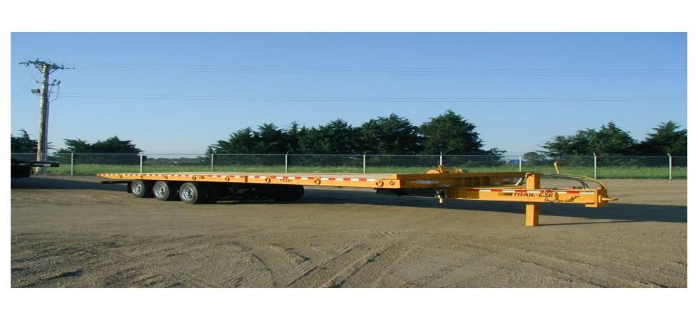 TE501 - 25 TON - SLIDING AXLE TRAILER