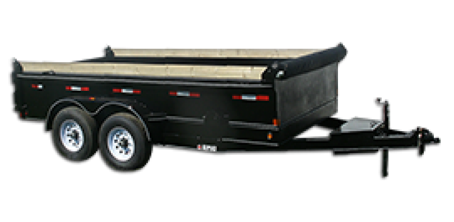 14,000 GVW Low Profile Dump Trailer