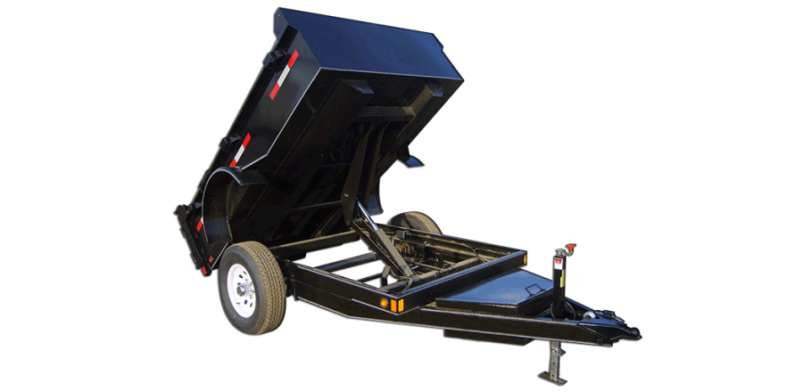 5,000 GVW Low Profile Dump Trailer